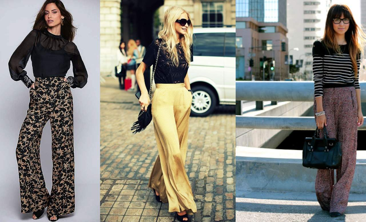 How to wear palazzo pants - Get a smart formal look