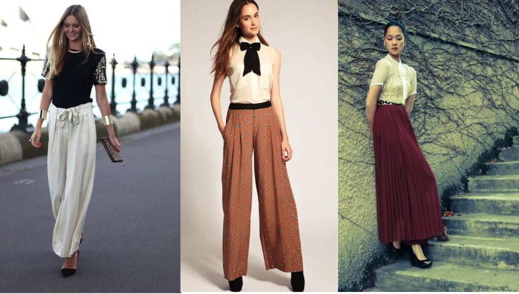 How to wear palazzo pants - Chic Glamour Look