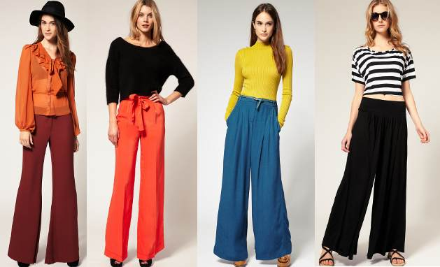 How to wear palazzo pants- Color Black