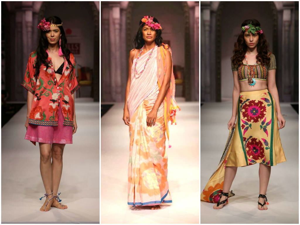 Anupama Dayal's Collection at Wills India Fashion Week Spring Summer 2014