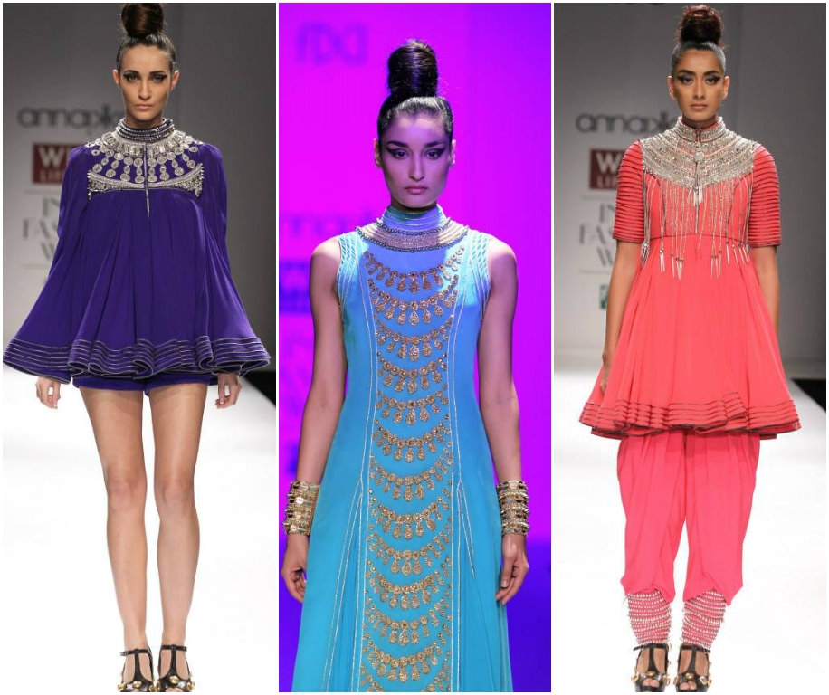 Kanika Saluja's Collection at Wills India Fashion Week Spring Summer 2014