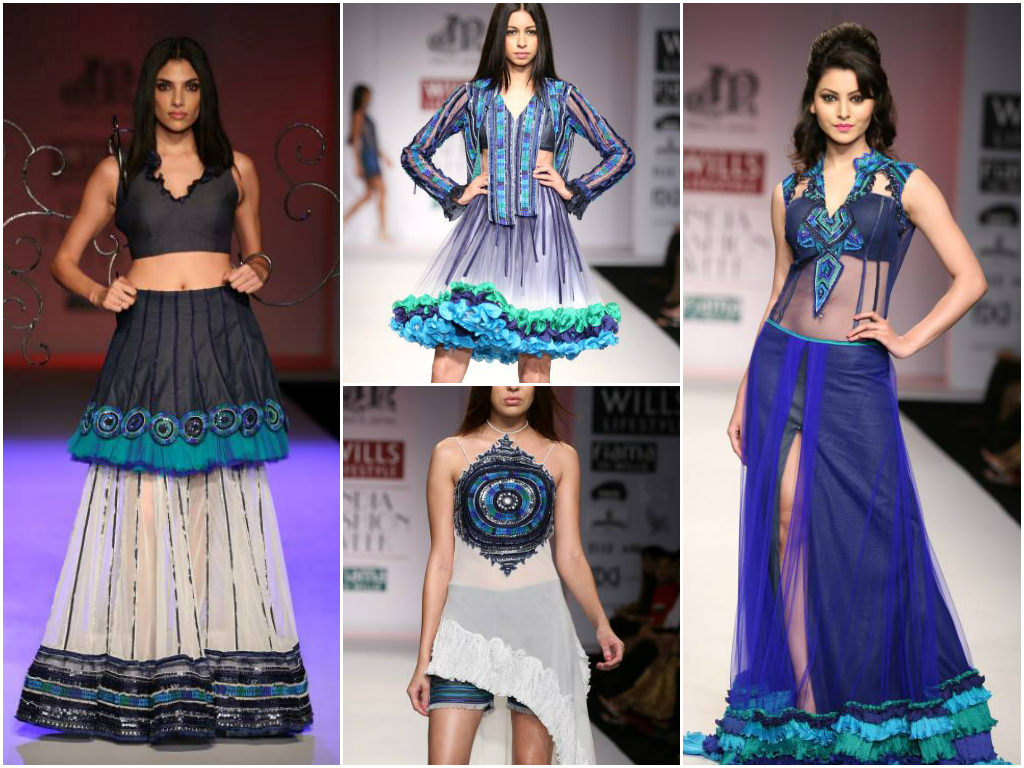 Niket & Jainee's commection at Wills India Fashion Week Spring Summer 2014