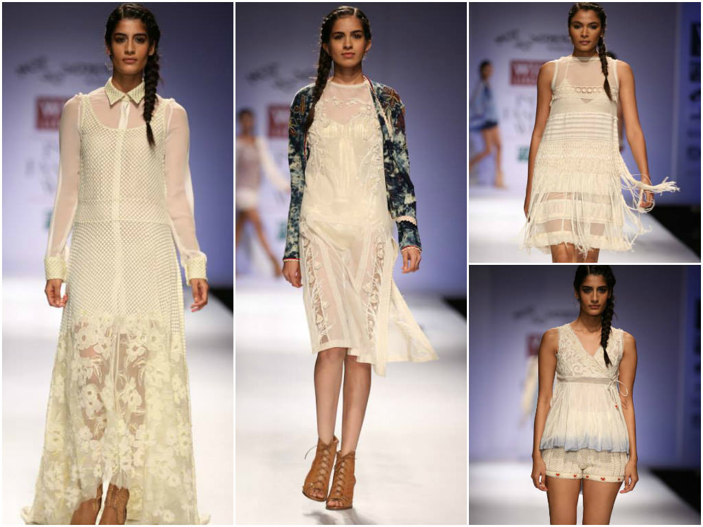 Pallavi-Mohan's Collection at Wills India Fashion Week Spring Summer 2014