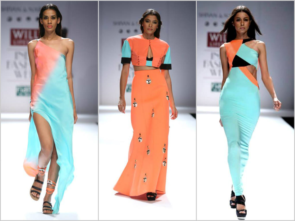 Shivan & Naresh's Collection at Wills India Fashion Week Spring Summer 2014