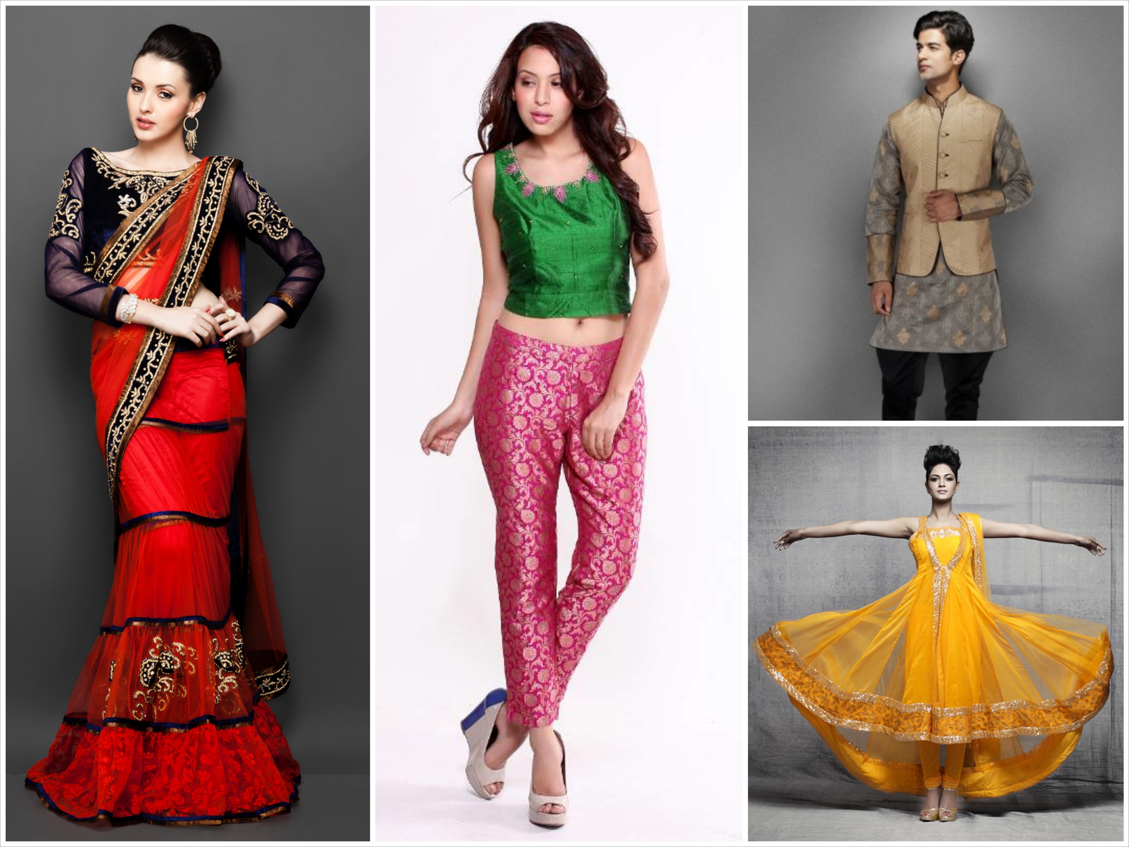 Last minute dressing tips to brighten up this diwali touch18 - Tips dressing ...