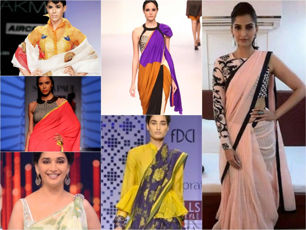 Saree Interesting Latest Trends To Wear A Saree