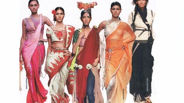 Latest ways to wear a saree