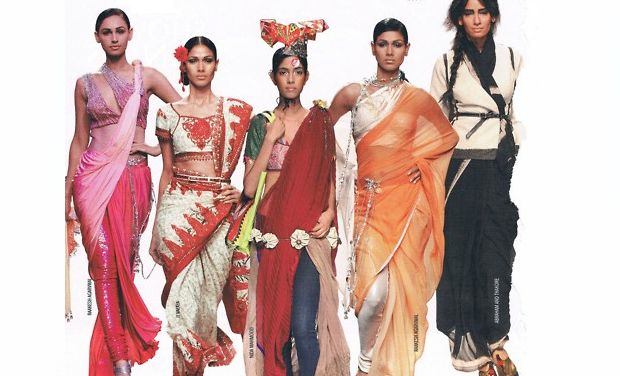 Latest ways to wear a saree