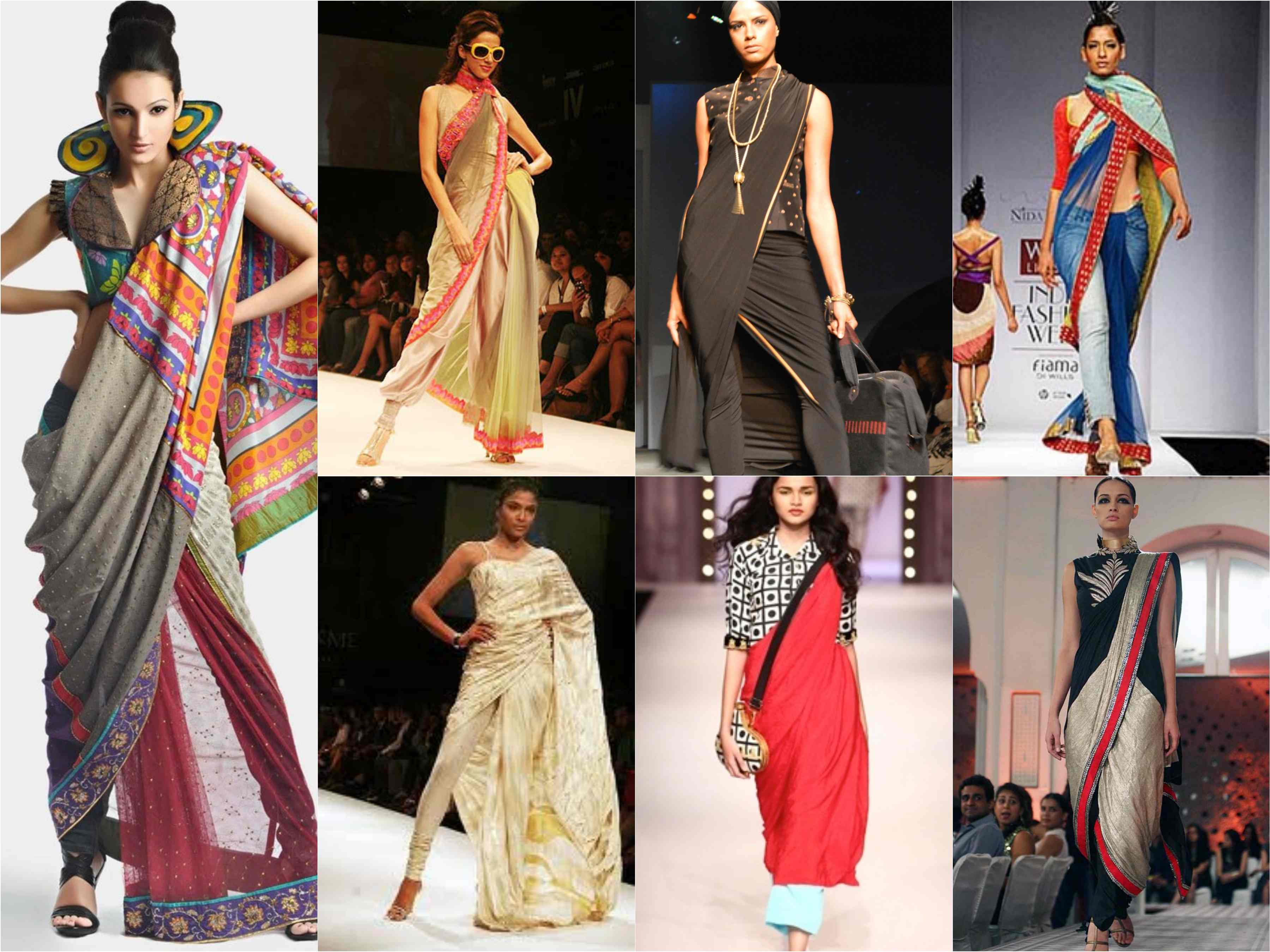 5afffccc1d5 6 Modern Saree Draping Ideas - Stylish and Easy Ways!!