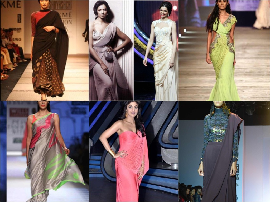 new way to wear sari_Collage copy